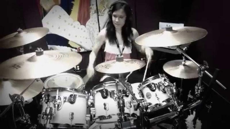 Primal Concrete Sledge - Pantera - HD Drum Cover By Devikah