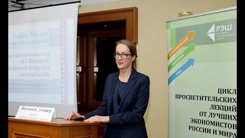 How do catastrophes change the lives of people Open lecture of Professor Natalia Danzer