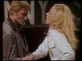 SYLVIE Vartan et JOHNNY Hallyday Ballet bagarre + bras de fer!!! (Show Vartan 1975)