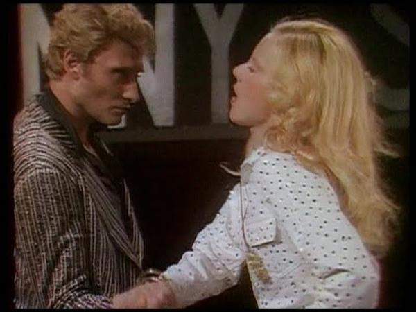 SYLVIE Vartan et JOHNNY Hallyday: Ballet bagarre bras de fer (Show Vartan 1975)