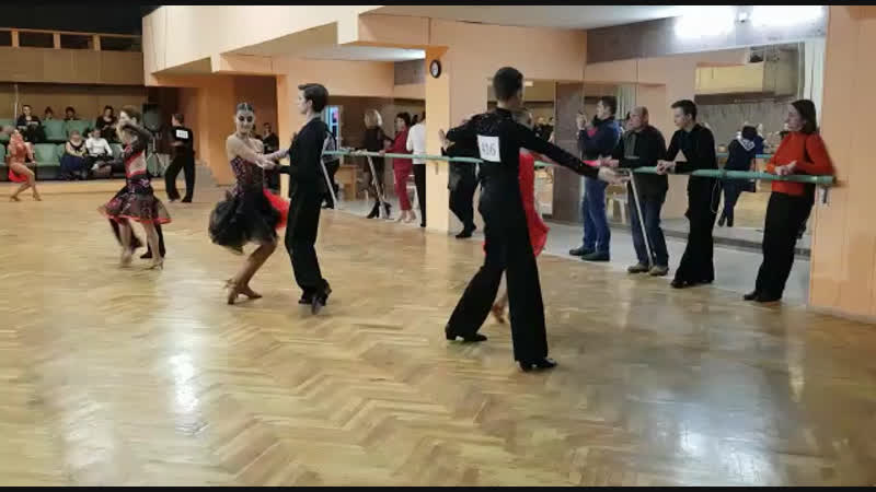 Иван и Карина. Румба. Ю-1 С класс. Кубок Кредо