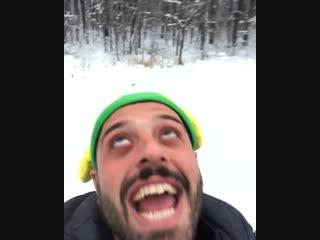 Когда ты бразилец и никогда не видел снега xd томер савойя вернулся в россию +)))))