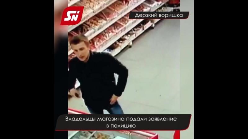 В Ставрополе покупатель украл кошелек у продавца прямо перед видеокамерами