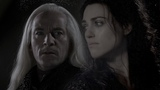 Lucius Malfoy and Morgana Pendragon