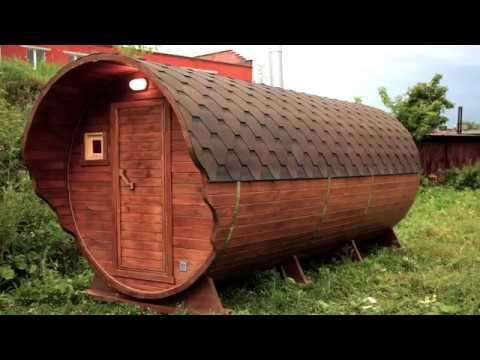 Баня Бочка Трио Wood 5000 Стандарт от ПФ Миасские сауны