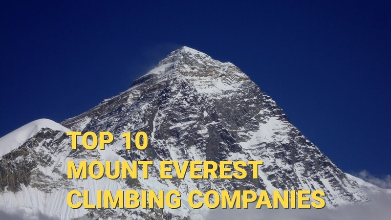 Top 10 Mount Everest climbing companies for Everest expedition