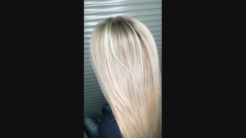 После (рассеянный блонд