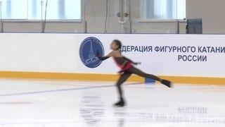 Alina Zagitova Первенство УФО и ПФО 2014 дш 2 16.00