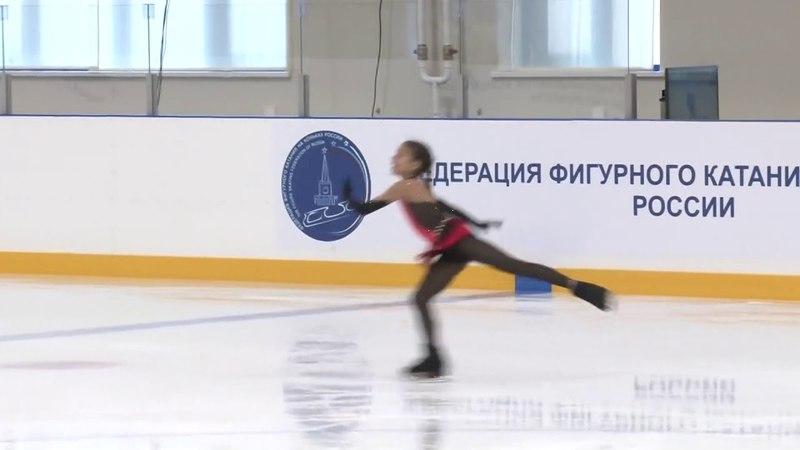 Alina Zagitova 20140226 7 148.00 Первенство УФО и ПФО 2014 Тюмень ДШ 2 16.00