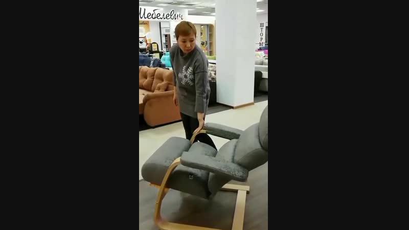Волшебные кресла в ТЦ Мебель-Холл