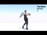 New True Heart Emote Animation - Price 800 V-Bucks - Description 3 - Fortnite FortniteBR Fortniteleaks