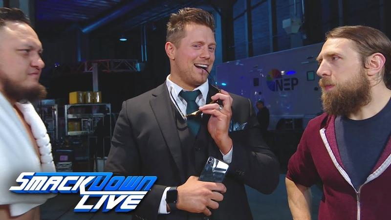 [ BMBA] Daniel Bryan & The Miz make their choices for the final Survivor Series spot: SmackDown LIVE, Nov