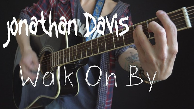 Jonathan Davis (Korn) - Walk On By (acoustic guitar / vocal / bass cover by Dmitry Klimov)