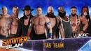 WWE 2K18 - 8-Man Tag Team Match (Gameplay)