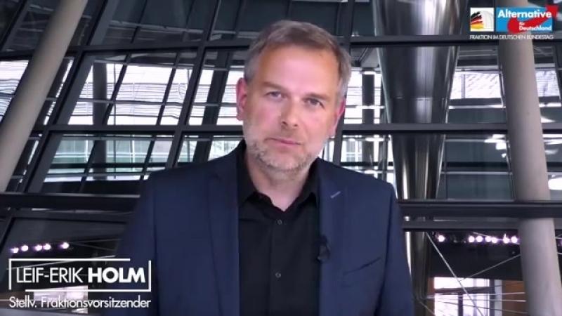 Leif-Erik Holm- -Merkel und Seibert haben keine Beweise für eine Hetzjagd--