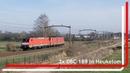 DBC 189 030 en 189 044 komen door Heukelom