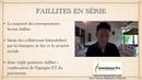 Faillites des Entrepreneurs lors de la prochaine crise en France