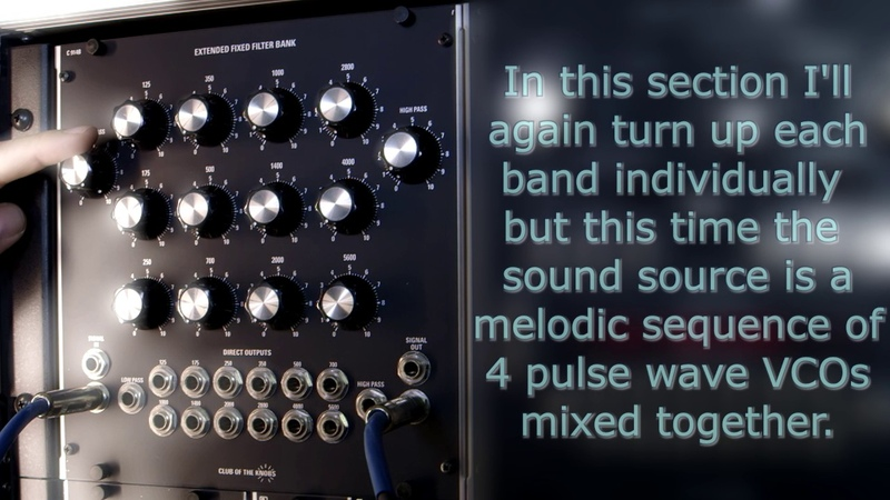 Club Of The Knobs C914B Extended Fixed Filter Bank