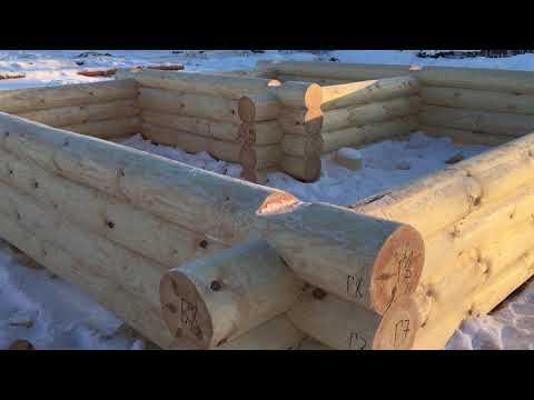 Сруб бани 5х5 с рублеными фронтонами готов в Рязанскую обл с Глебово 89271904521
