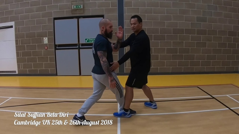 How to train Footwoork and Positioning Silat Suffian Bela Diri