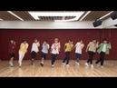 Stray Kids dancing to Dance The Night Away on Idol Room