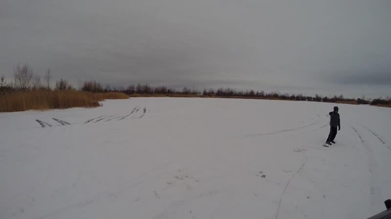 Буксировка на сноуборде