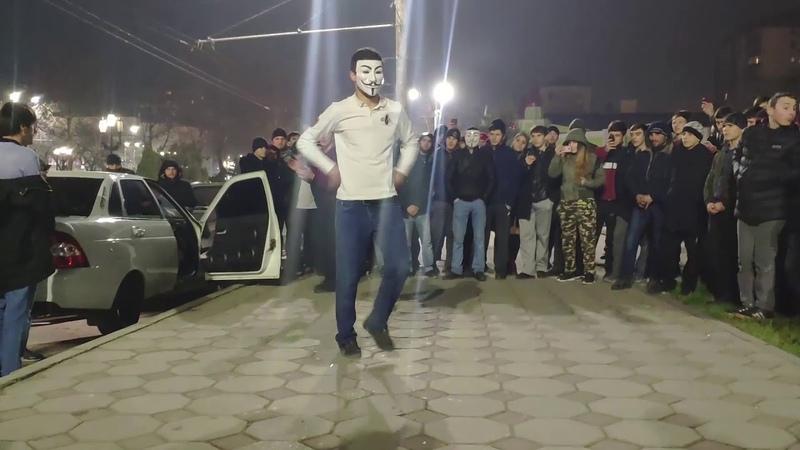 новогодний танец в махачкале Лезгинка 2019