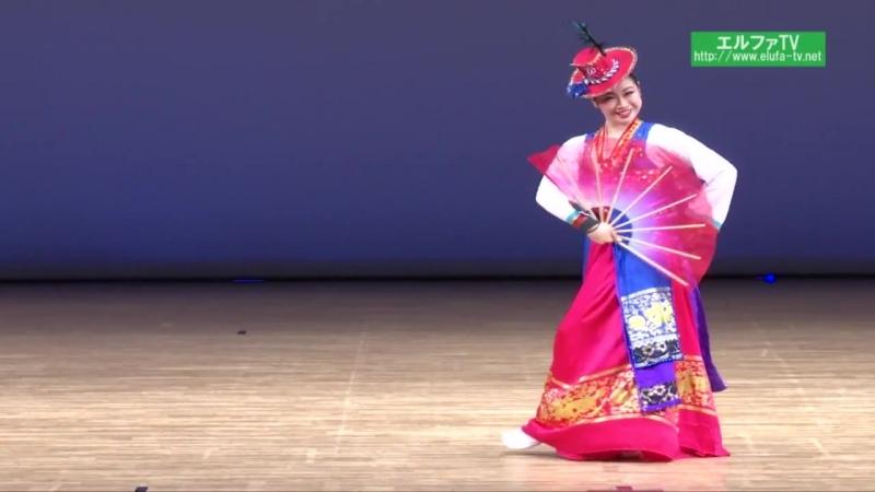 독무 리미남조선무용연구회 권안리 《천안삼거리》 Северокорейский танец