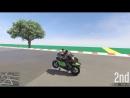 Digital Car Addict GTA 5 Top Speed Drag Race Hakuchou Drag vs. Bati 801