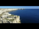 Мыс Тарханкут Крым Красивое видео снятое с воздуха Cape Tarkhankut Crimea
