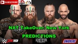 NXT TakeOver New York NXT Tag Team Championship War Raiders vs. Aleister Black &amp Ricochet WWE 2K19