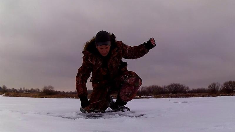 Отчёт о рыбалке со льда 25 11 18