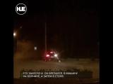 Водитель из Владивостока на полном входу влетел в столб