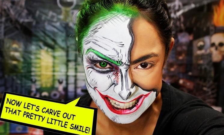 POP ART JOKER - Suicide Squad Makeup Tutorial