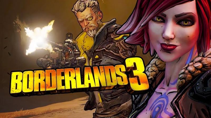 Borderlands 3 - Official Announcement Gameplay Trailer