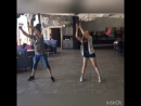 Репетиция танца троллей