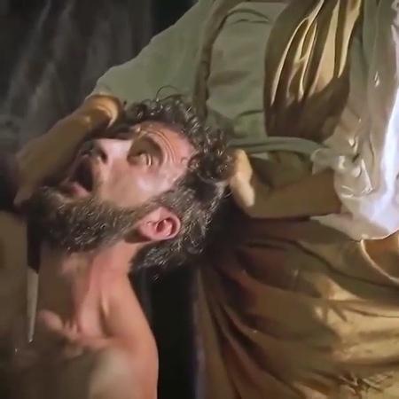 """Art performance bringing to life Caravaggio's masterpieces."""
