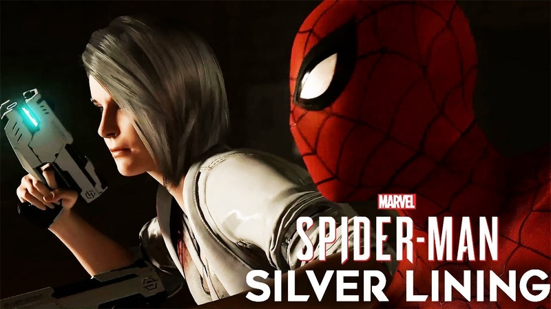 SPIDER MAN PS4 DLC SILVER LINING All Cutscenes Game Movie 1080p HD