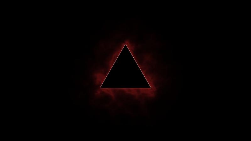 Triangle fractal