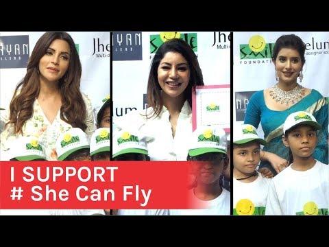 She Can Fly Initiate Ko Support Karne Pohuche TV Celebs | Shama Sikander | Debina Bonnerjee