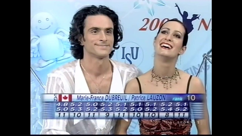 Marie-France Dubreuil and Patrice Lauzon - 2002 Worlds OD