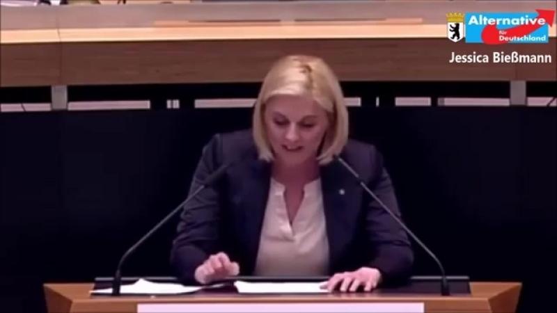 Jessika Bießmann AfD Frühsexualisierung unsere Kinder NICHT MIT UNS