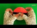 DIY ЗАКЛАДКИ СВОИМИ РУКАМИ - Как сделать оригами закладку ПОКЕБОЛ из бумаги _ G