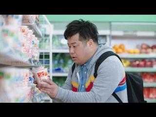 Японская Реклама - Лапша Nissin Cup Noodle Nice