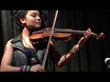 Gonzalo Bergara quartet Eddies attic - Daisy Castro fiddle