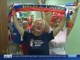 Футбольное дефиле моделей 55+ на телеканале Россия 1