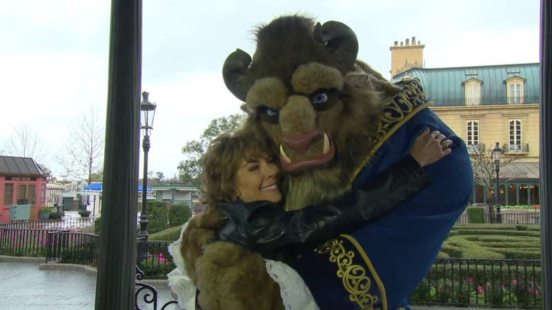 'Beauty The Beast' Voice Paige O'Hara Surprises Beast For Valentine's Day