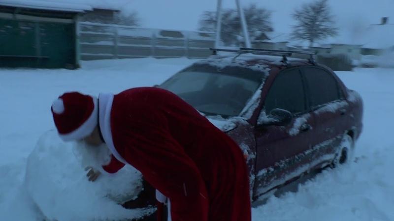 Дед Мороз поздравил деток в Кременце от группы Я Человек