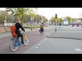 Час пик в Нидерландах. Здоровый образ жизни!