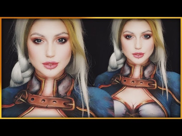Jaina Proudmoore World of Warcraft Bodypaint | Djarii MUA